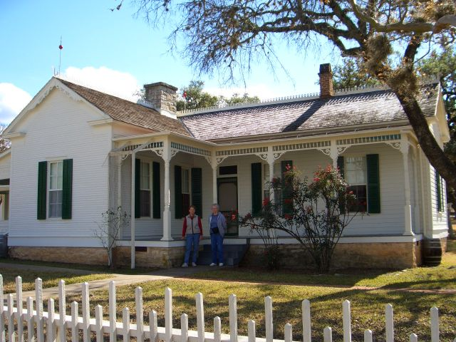 LBJ's boyhood home