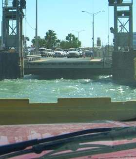 Port Aransas ferry landing