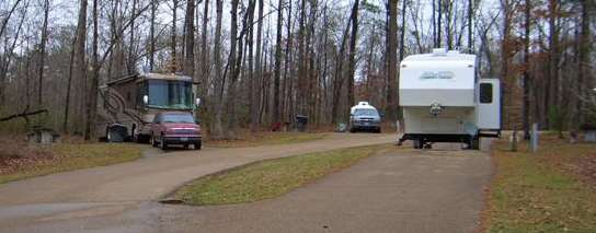 Natchez State Park campground