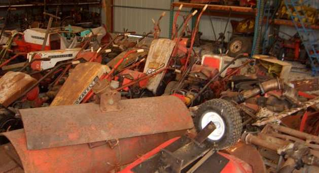 So many memories, kindled by a pile of junk tractors